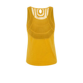 Top amarillo backjoliz yellow.