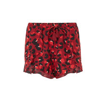 Short burdeos veronciz red.