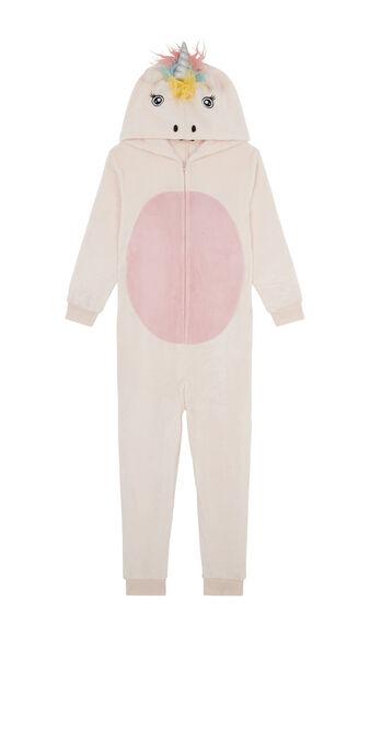 Mono rosa claro de niño unikeniz pink.