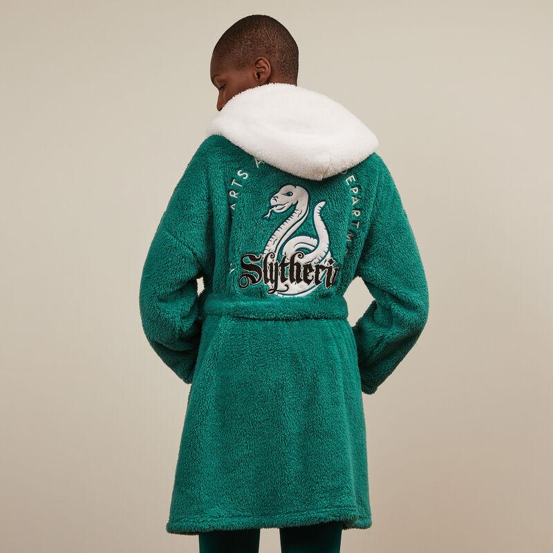 albornoz de polar Slytherin - verde;