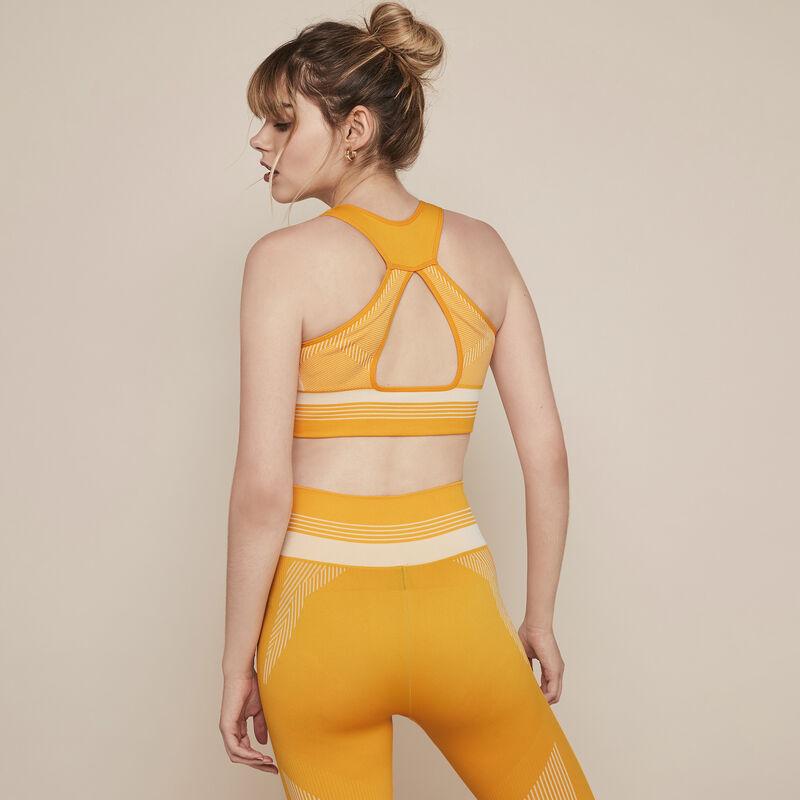 Leggings cortos deportivos sin costuras seamblockiz;
