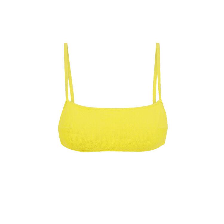 Top de bikini amarillo sikiniz;