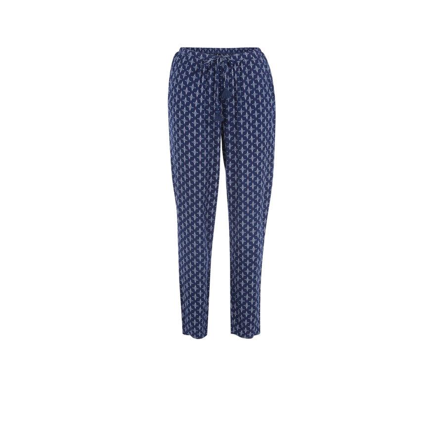 Pantalón azul oscuro polipiz;
