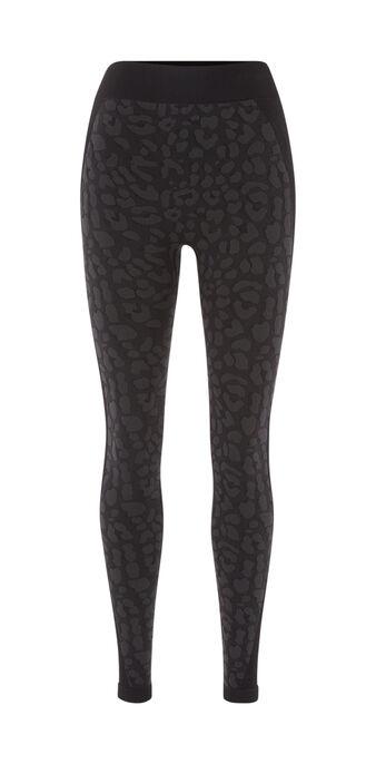 Legging deportivo negro leopardiz black.