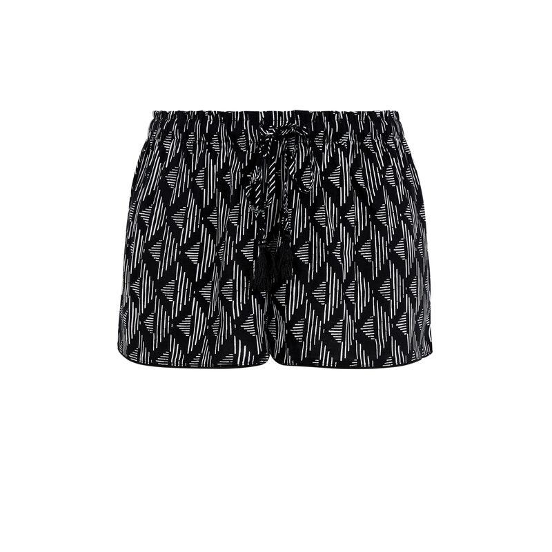 Shorts negros pomgeoliz;