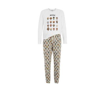 Conjunto de pijama blanco harrypiz;${refinementColor}