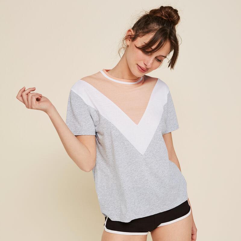 Camiseta geométrica Colblockiz;