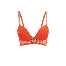 Sujetador corpiño push-up naranja matchiz orange.
