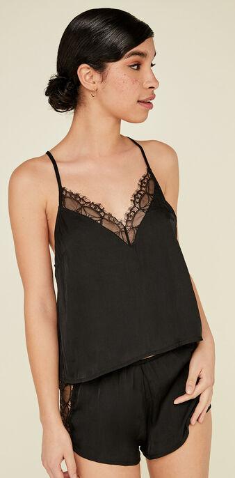Camiseta negro doublediz black.