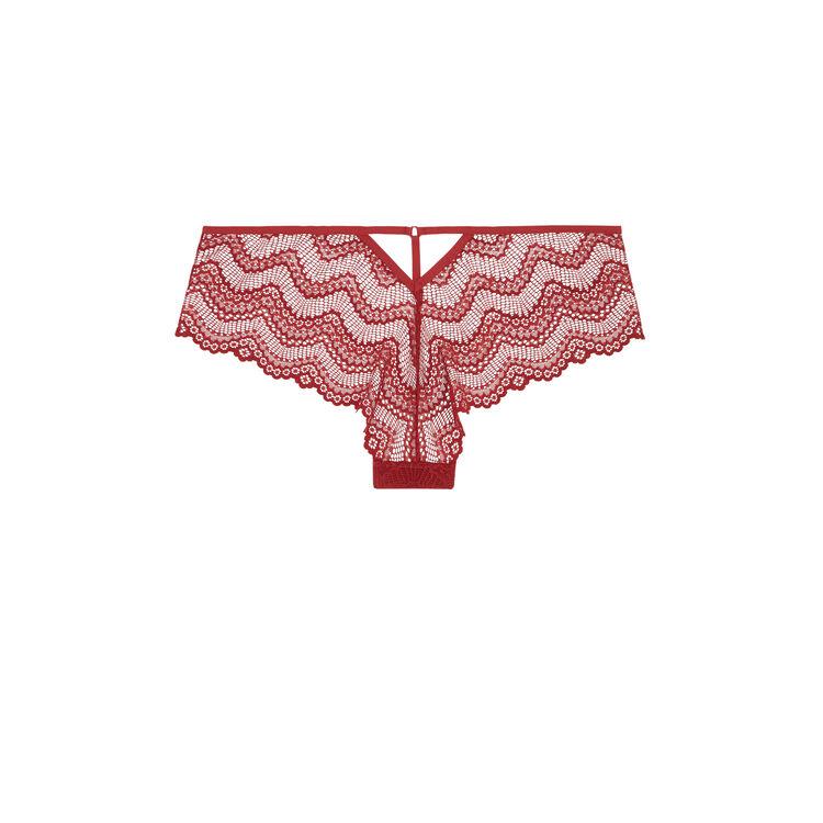 Culotte rojo mitrimiz;