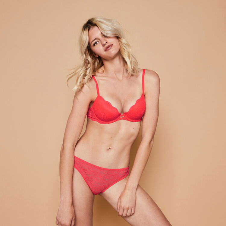 Sujetador push-up coral Everydayiz;