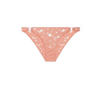 Culotte rosa salmón plumiz dentelliz pink.