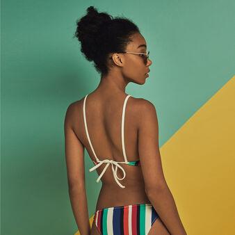 Braguita de bikini bahamiz multicolor dewberry.