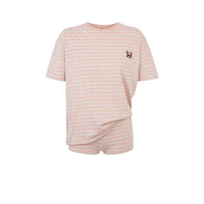 Conjunto de pijama rosa bluesavemiz pink.