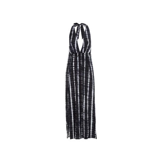 Vestido negro longpliz;