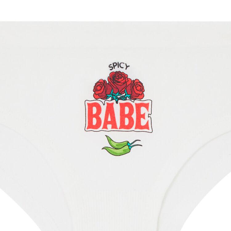 Braguita culotte blanco roto spiciz;