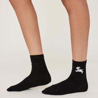 Calcetines negros dalmasiz black.