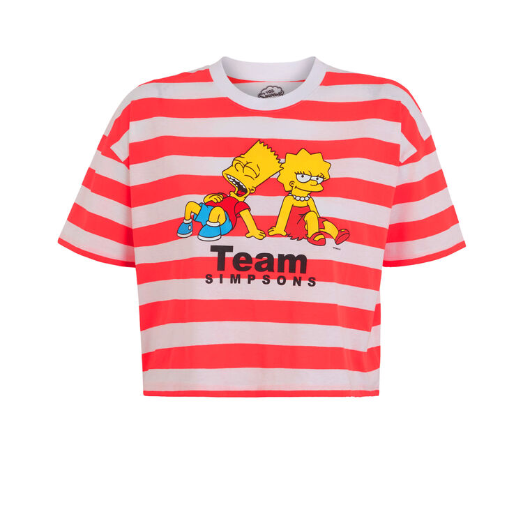 Camiseta coral fluorescente Lisaiz;