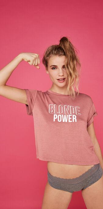 Top rosa empolvado blondemotiz pink.