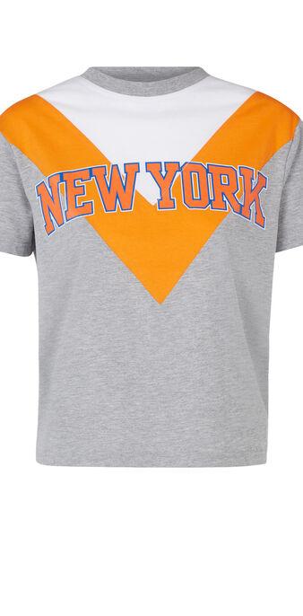 Camiseta gris nyknickiz grijs.