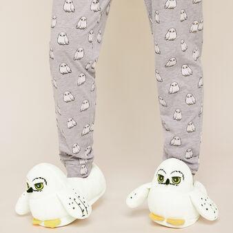 Zapatillas polares edwigiz blanc.