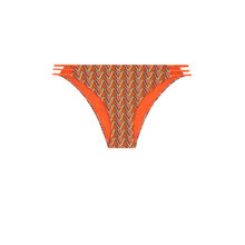 Parte de abajo de bikini naranja afrotubiz orange.