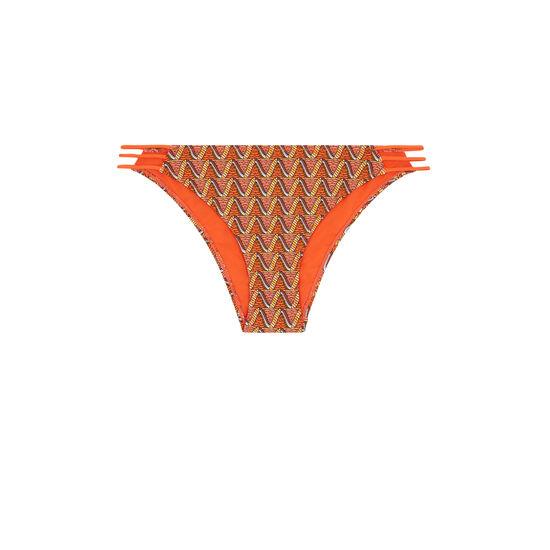Parte de abajo de bikini naranja afrotubiz;