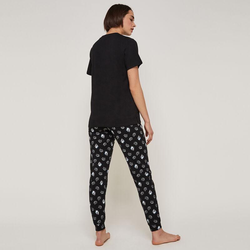 Pantalón con estampado percyiz;