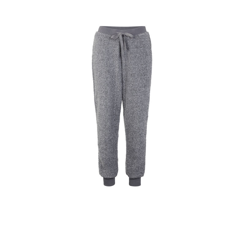 Pantalón gris ribpoiliz;
