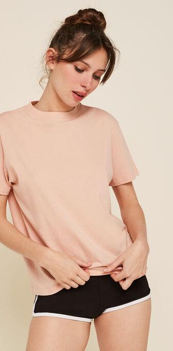 Top rosa envejecido uniz rosa.