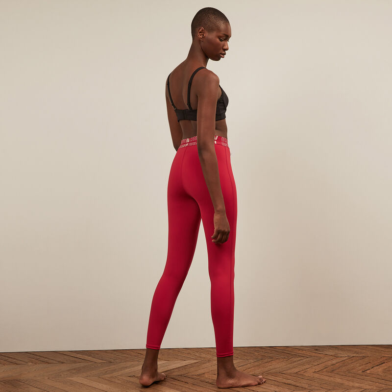 • Leggings deportivos - teja;
