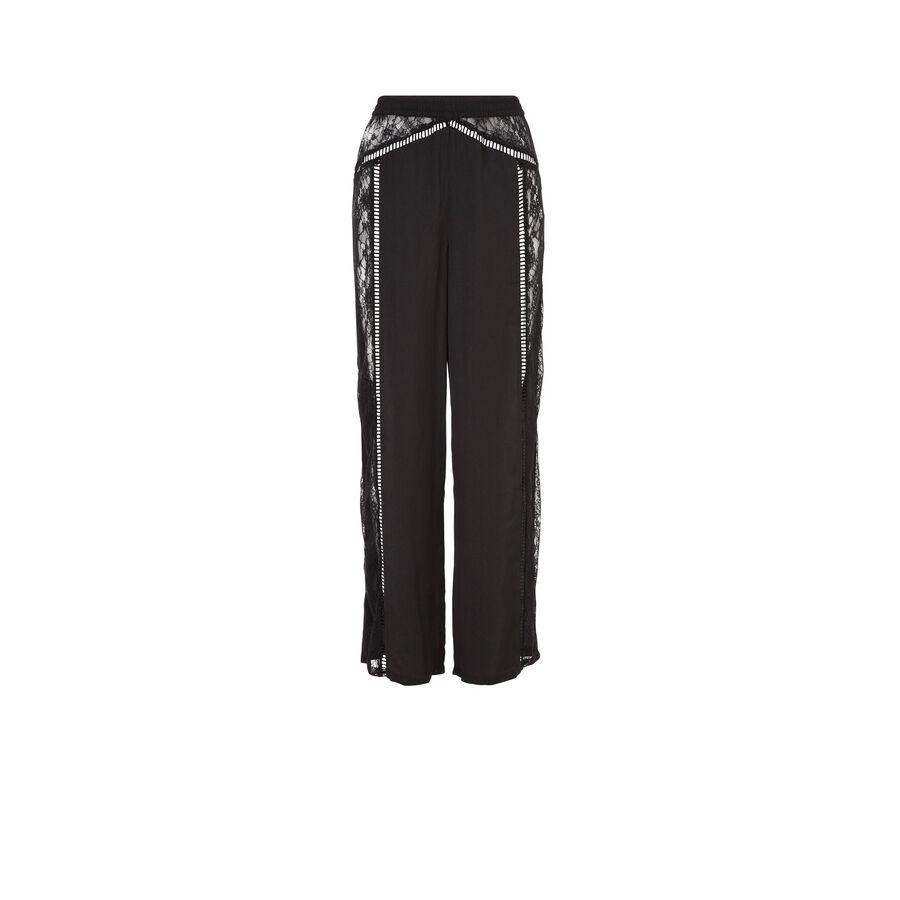 Pantalón negro nightopiz;