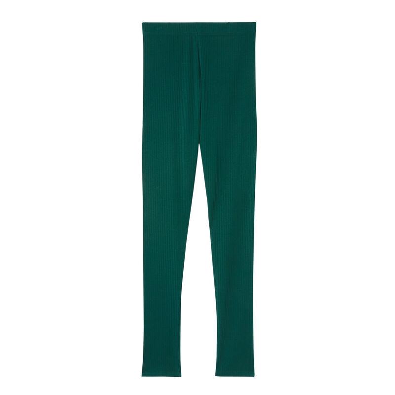 leggings lisos - verde pino;