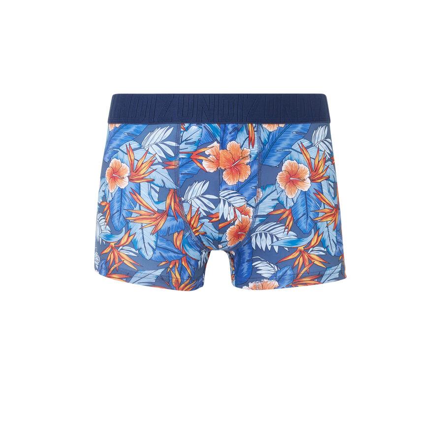 Bóxer azul caribbeaniz;