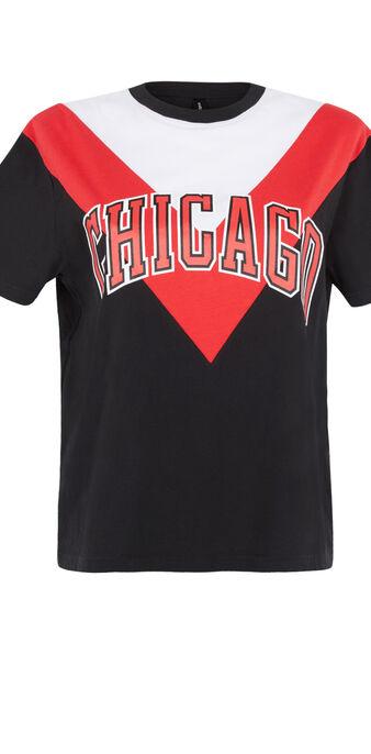 Camiseta negro redchicaliz czarny.