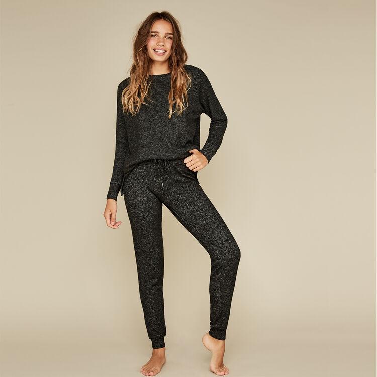 Pantalón negro quodiz;