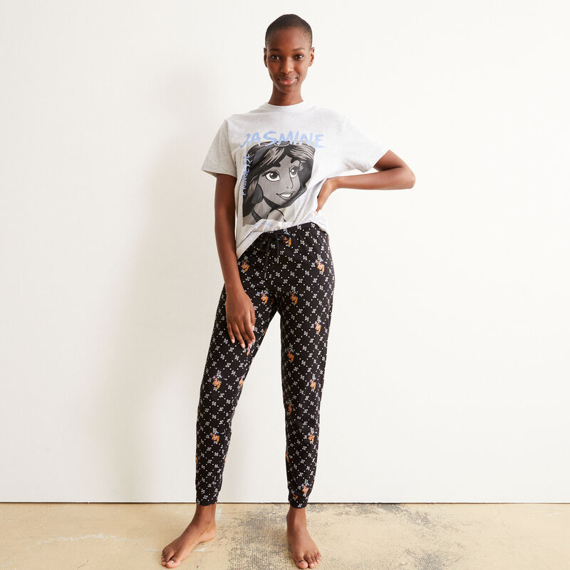 juego de pijama de manga corta Jasmine - gris;
