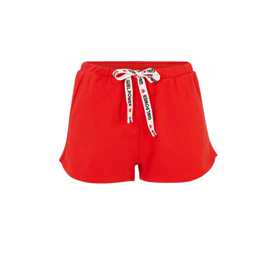 Short rojo feminiziz;