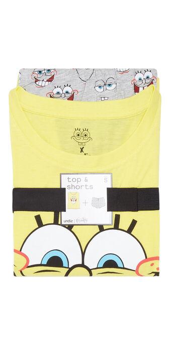 Pijama amarillo y gris spongebibiz yellow.