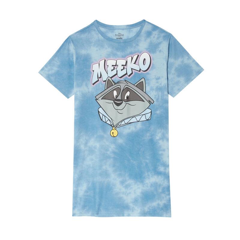 túnica con estampado Meeko - coral;