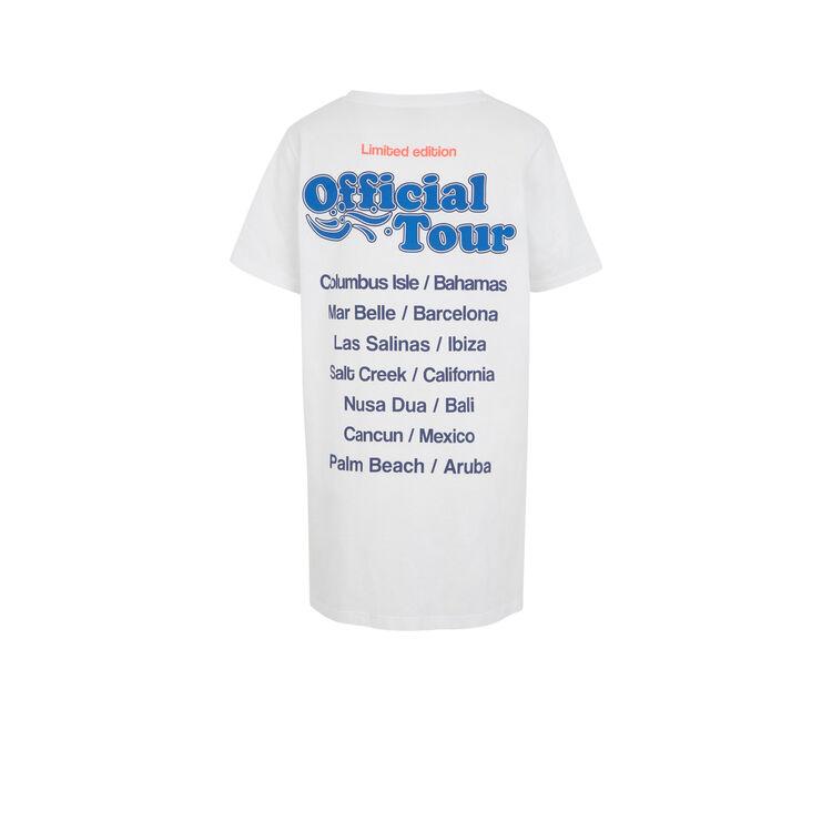 Camiseta blanca intermouilliz;