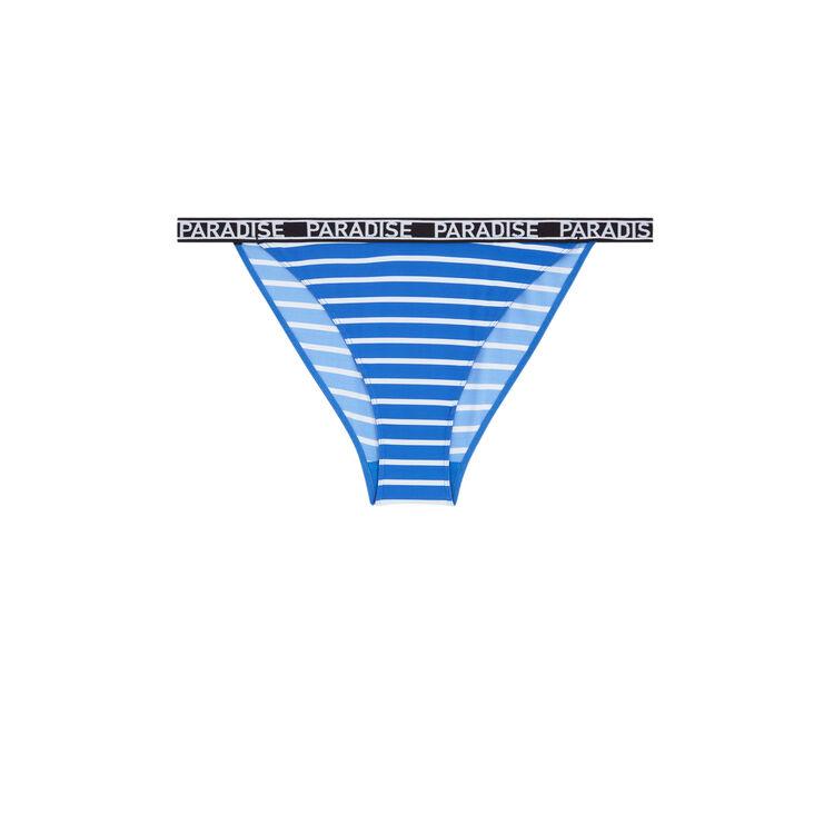Braguita culotte azul checkizrayuriz;