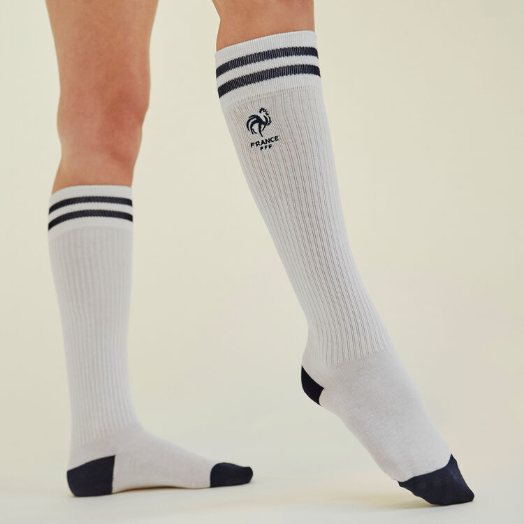 Calcetines blancos Ojakiz;