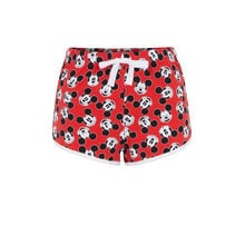 Short rojo plumickiz red.