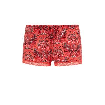 Shorts en coral vifleuriz pink.