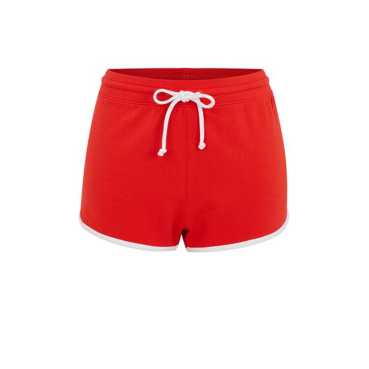 Shorts rojos cocacoliz;