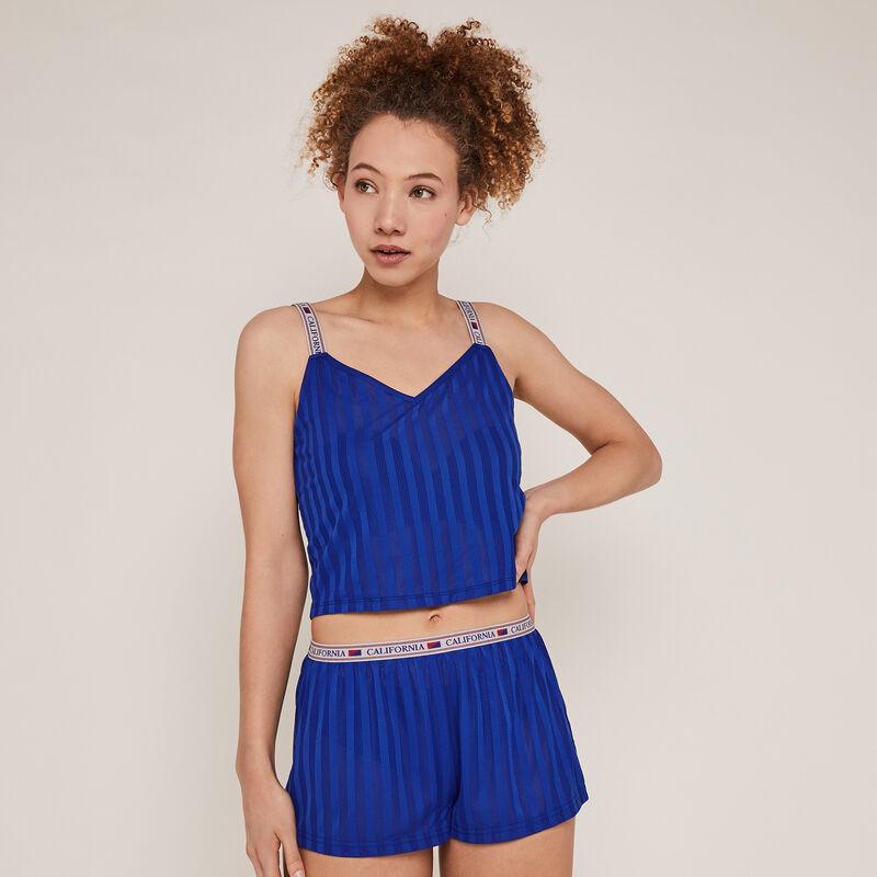 Short calado - azul;