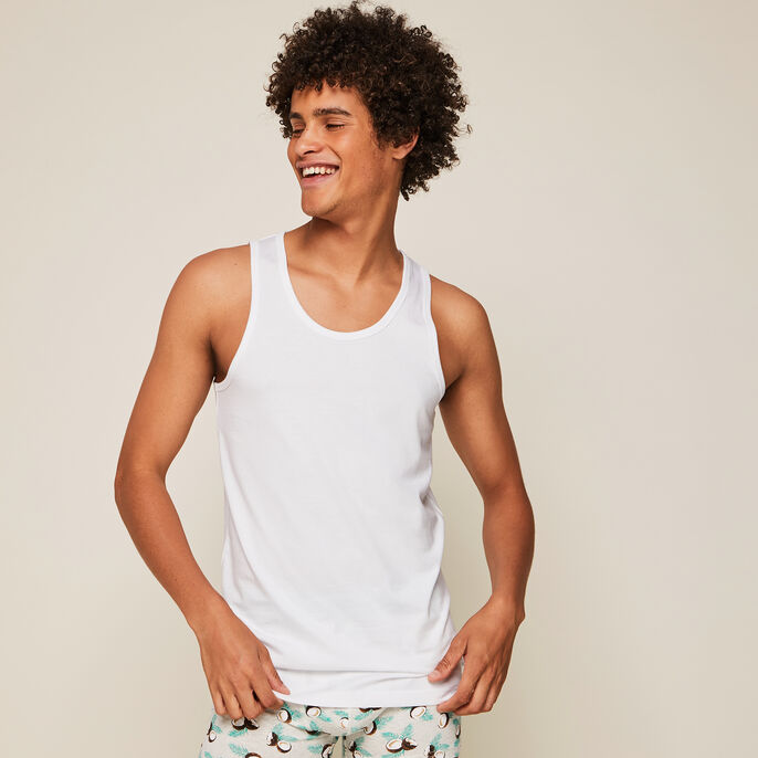 Camiseta de algodón lisa yodiz blanco.