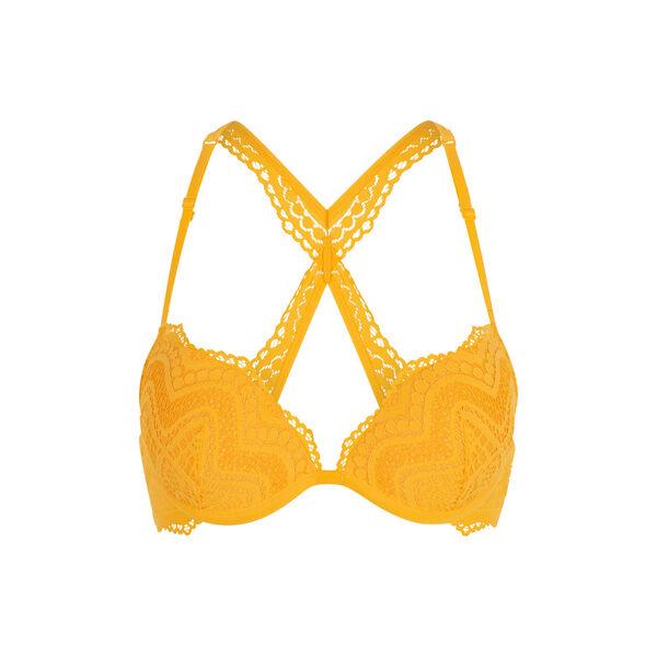 Sujetador push-up amarillo triamiz;