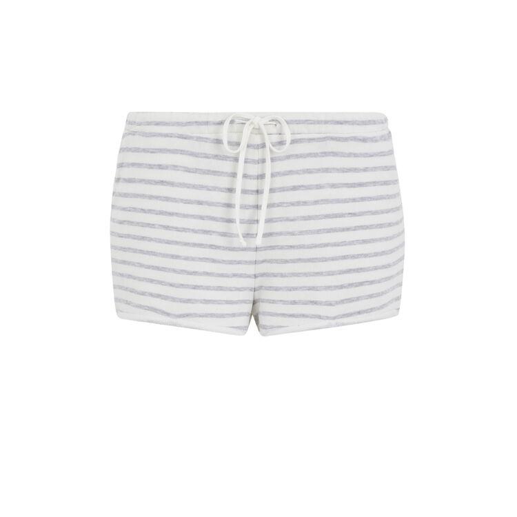 Shorts de felpa rayvetiz;